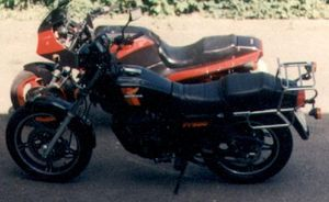(the one in front; Kampfbonsais GPZ900 in the back