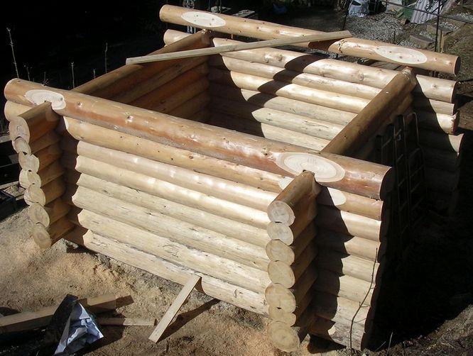 blockhaus selber bauen bauplan wohn design. Black Bedroom Furniture Sets. Home Design Ideas